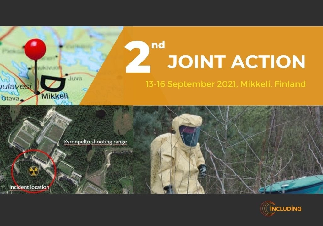 2nd Joint Action FTX Mikkeli, 13-16.09.2021, Finland, hosted by SSAV